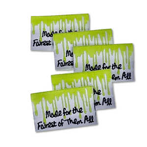 Made For the Fairest | Woven Sew-in Labels - Pack of 5