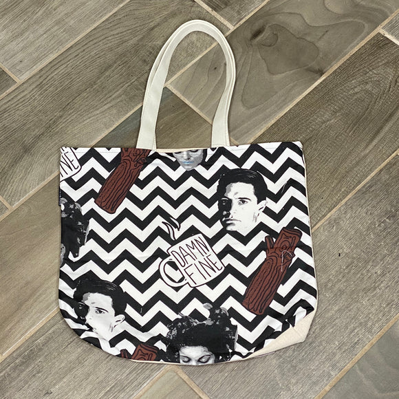 Twin Peaks | Canvas Tote Bag