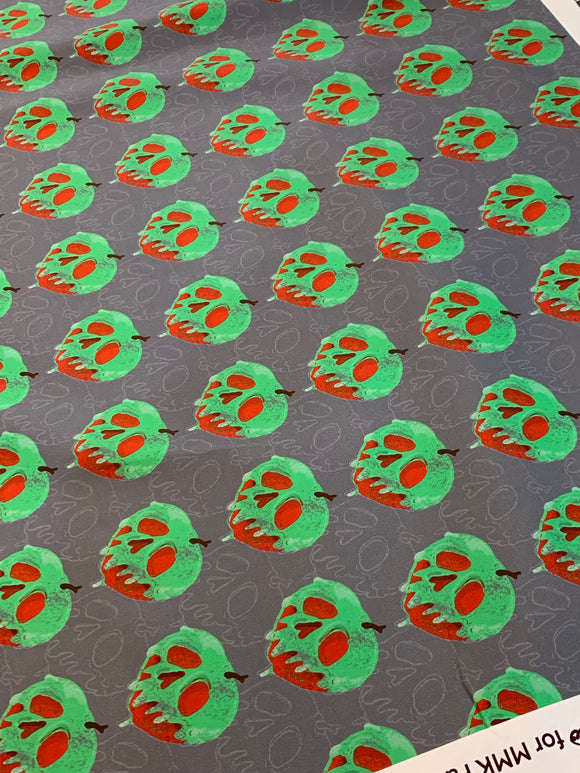 Distressed Poison Apple - 2 Yard Cut
