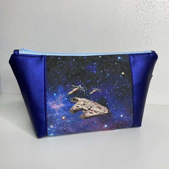 War Among The Stars Blue | Toiletry Bag