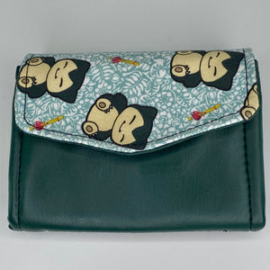 Sleepy Snorlax | Mini Wallet