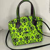 Neon Haunted Mansion | Lola Domed Handbag
