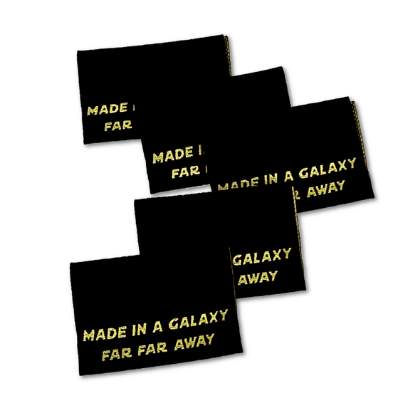 Made in a Galaxy | Woven Sew-in Labels - Pack of 5