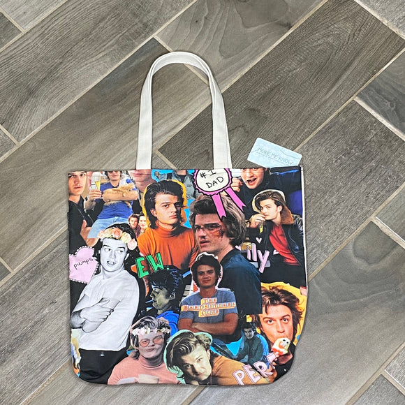 Joe Keery Inspired | Canvas Tote Bag