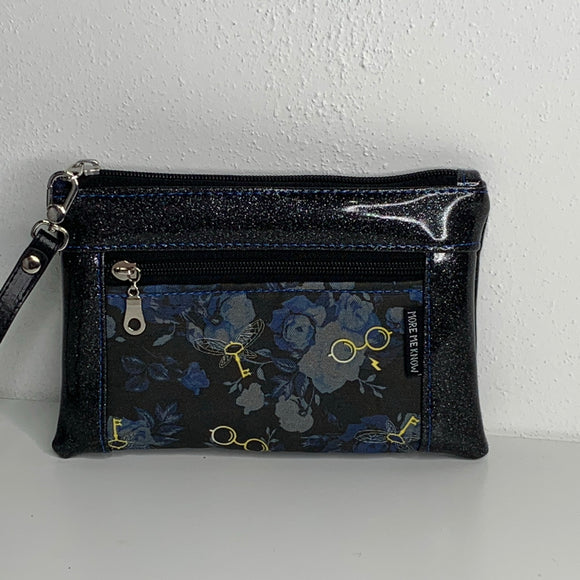 Flying Keys Glitter | Wristlet