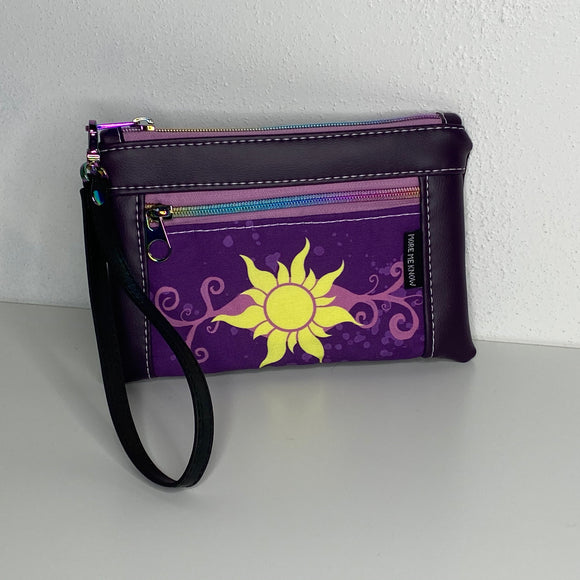 Tangled Purple | Wristlet
