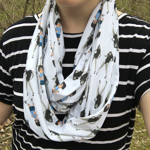 Single Ladies Inspired Infinity Scarf