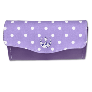 Purple Polka Dot Rebel | The Necessary Clutch Wallet
