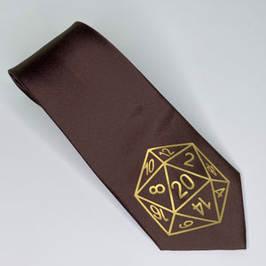 D20 Crit Inspired | Regular Neck Tie