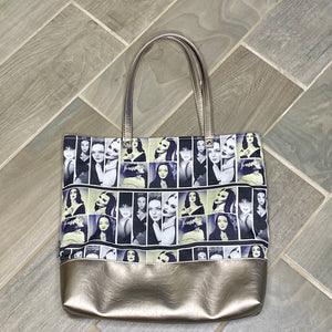 Women of Horror | Canvas Tote Bag With Vinyl Accent