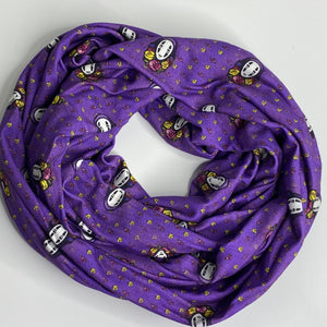 Floral No Face | Infinity Scarf