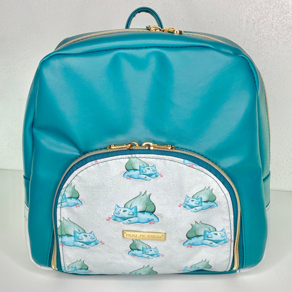 Sleepy Bulbasaur - Medium Backpack