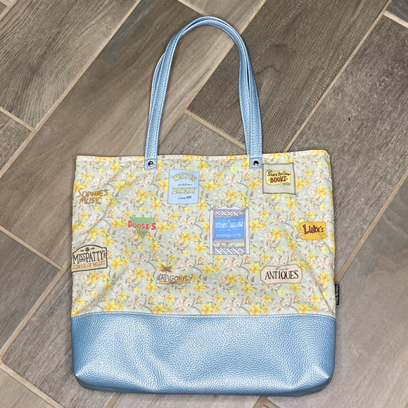 Gilmore Girls Inspired | Canvas Tote Bag With Vinyl Accent