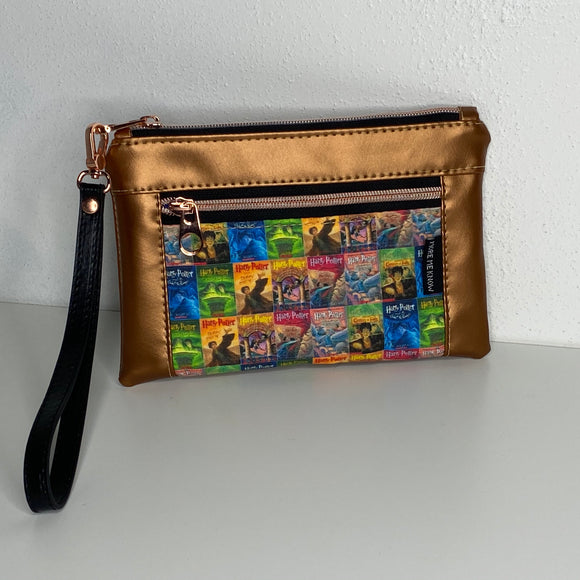 HP Books Metallic Copper | Wristlet