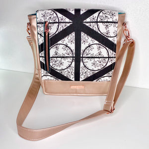 Rose Gold Deathly Hallows | Mighty Messenger Bag