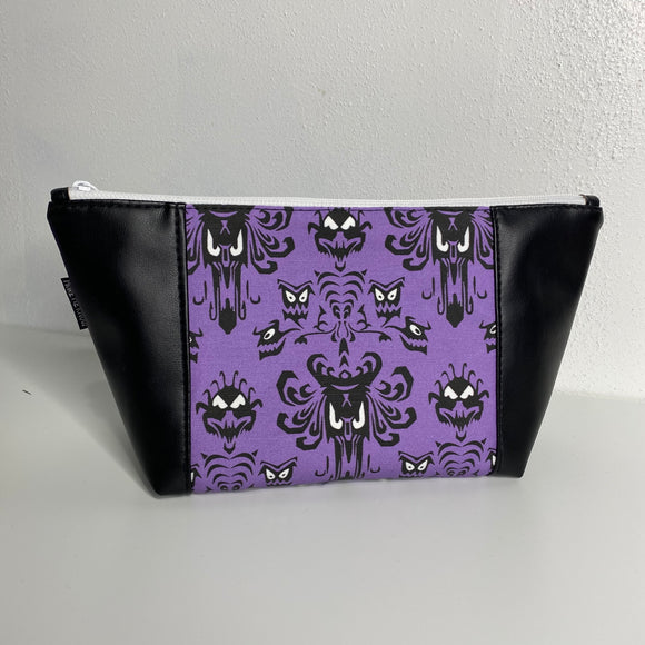 Haunted Mansion in Black | Toiletry Bag