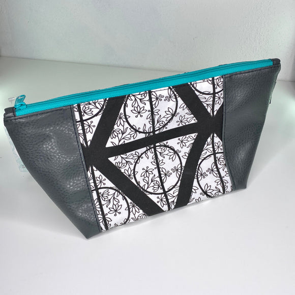 Floral Deathly Hollows | Toiletry Bag
