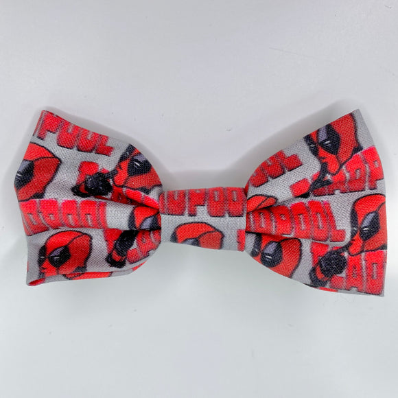 Deadpool | Hair Bow