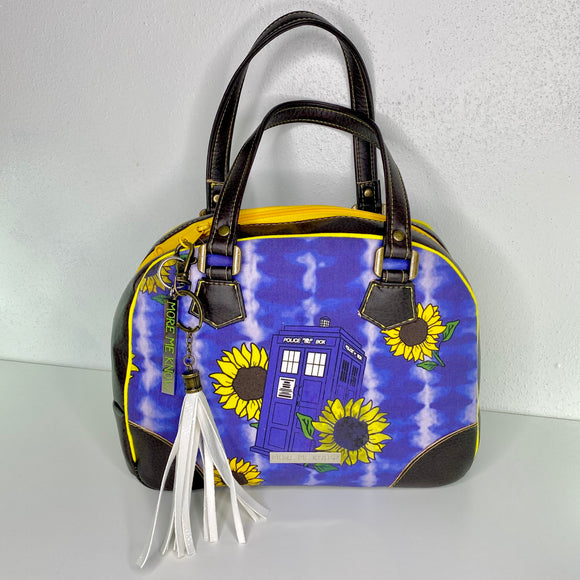 *CLOSEOUT* Sunflower TARDIS | How YOU Doin' Bowler Bag