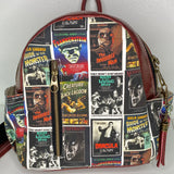 Monster Madness | Leather Mini Backpack
