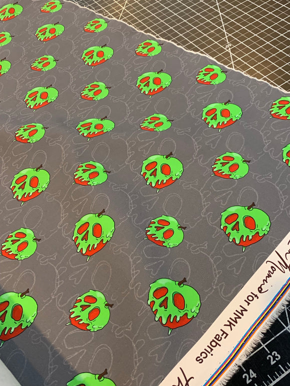 Gray Poison Apple - 1/2 Yard Cuts