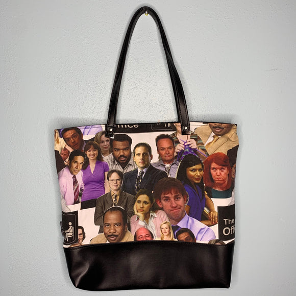 The Office | Canvas Tote Bag With Vinyl Accent