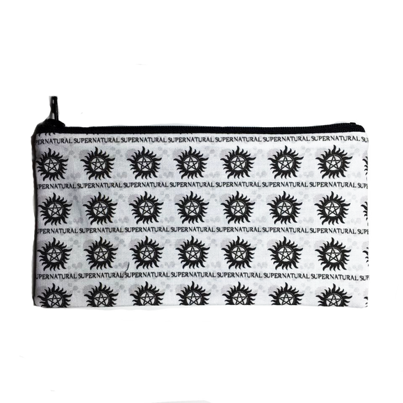 Supernatural Inspired Zipper Pouch
