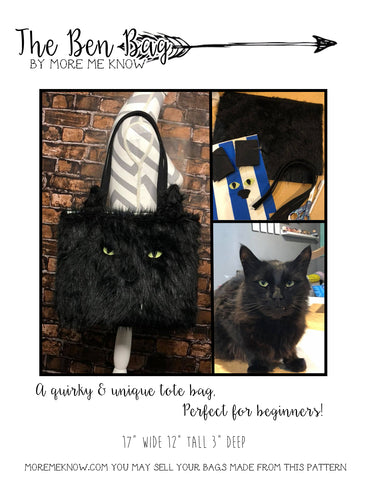 The Ben Bag - Sewing Pattern