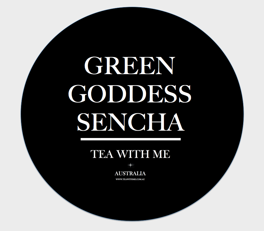 Green Goddess Sencha - Tea with me  - 1