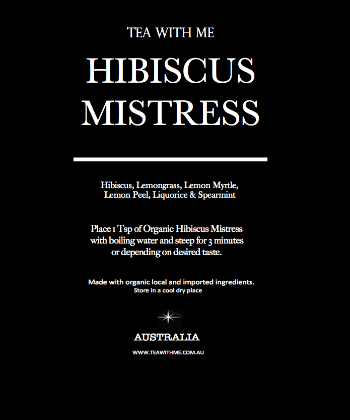 Hibiscus Mistress - Tea with me  - 2