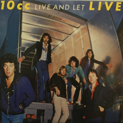 10cc ‎– Live And Let Live (2xLP)