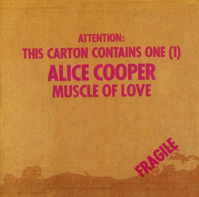 Alice Cooper ‎– Muscle Of Love (Promo Copy)