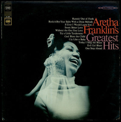 Aretha Franklin ‎– Aretha Franklin's Greatest Hits