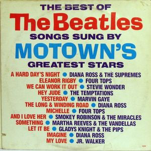 Various ‎– The Best Of The Beatles Songs Sung By Motown's Greatest Stars