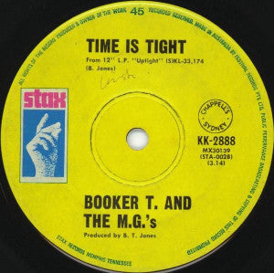 Booker T. & The M.G.'s ‎– Time Is Tight
