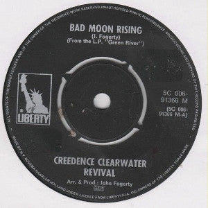 Creedence Clearwater Revival ‎– Bad Moon Rising / Lodi