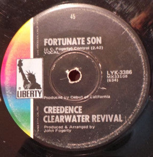 Creedence Clearwater Revival ‎– Fortunate Son / Down On The Corner
