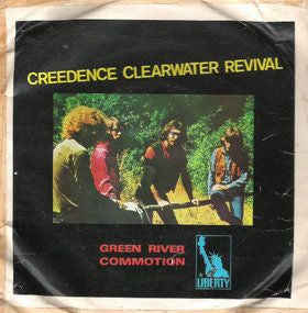 Creedence Clearwater Revival ‎– Green River / Commotion