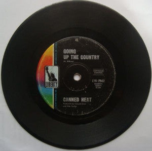 Canned Heat ‎– Going Up The Country / One Kind Favor