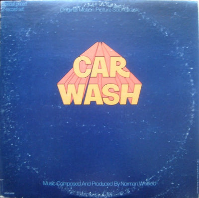 Norman Whitfield, Rose Royce ‎– Car Wash OST (2xLP)