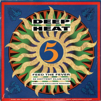 Various ‎– Deep Heat 5 - Feed The Fever (2xLP)