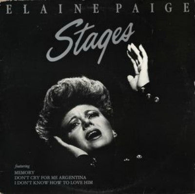 Elaine Paige ‎– Stages