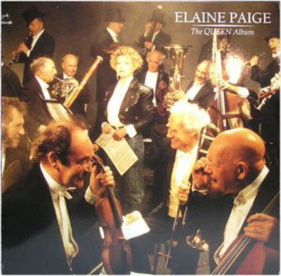 Elaine Paige ‎– The Queen Album