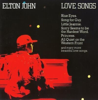 Elton John ‎– Love Songs
