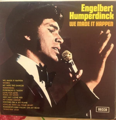 Engelbert Humperdinck ‎– We Made It Happen