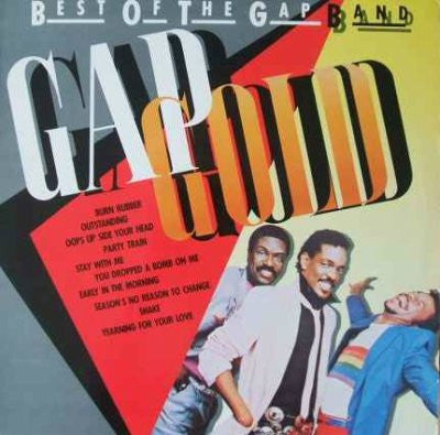 The Gap Band ‎– Gap Gold - Best Of The Gap Band