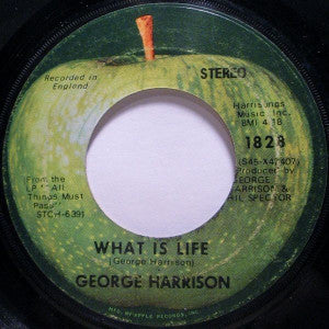 George Harrison ‎– What Is Life