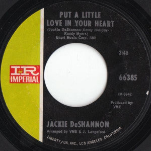 Jackie DeShannon ‎– Put A Little Love In Your Heart / Always Together