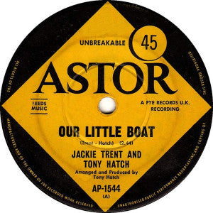 Jackie Trent & Tony Hatch ‎– Our Little Boat