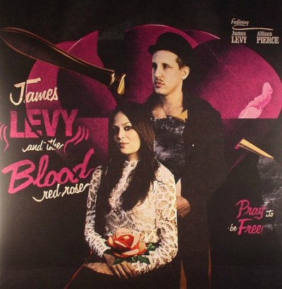 James Levy And The Blood Red Rose Featuring Allison Pierce ‎– Pray To Be Free + CD